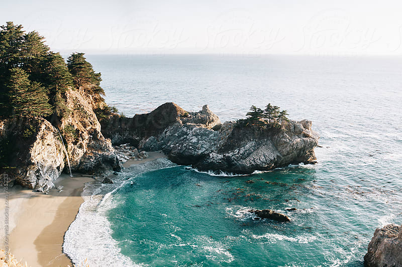 California coast by Lukas Korynta for Stocksy United