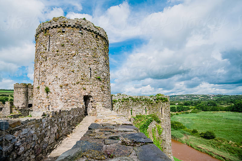 Kidwelly Castle by Jen Grantham for Stocksy United