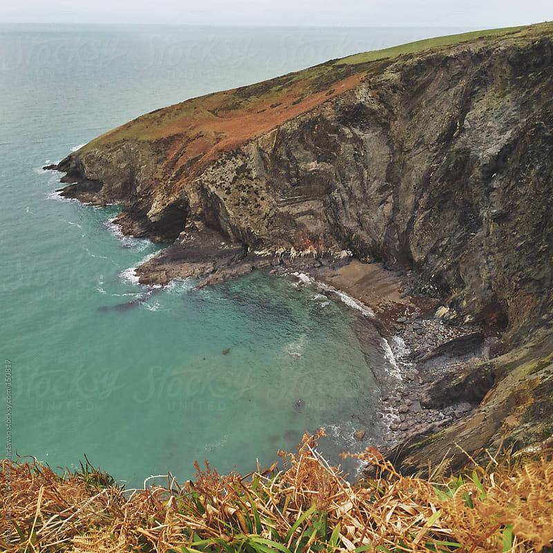 Coastal Cliffs by Maximilian Guy McNair MacEwan for Stocksy United