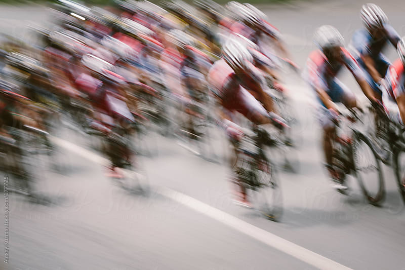 Bicycle Race by Alexey Kuzma for Stocksy United