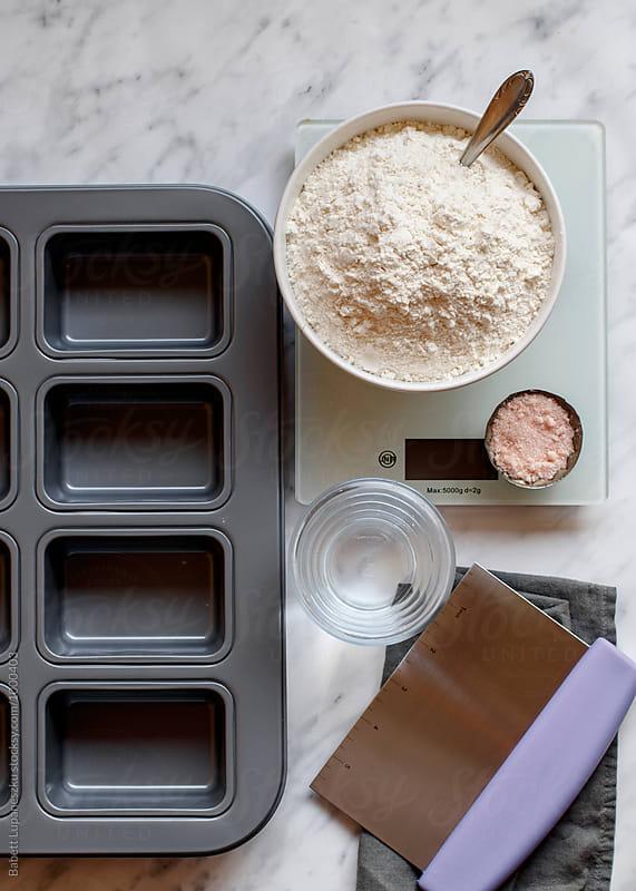Baking ingredients by Viktorné Lupaneszku for Stocksy United
