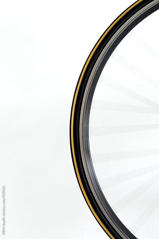 Bike wheel by MEM Studio for Stocksy United