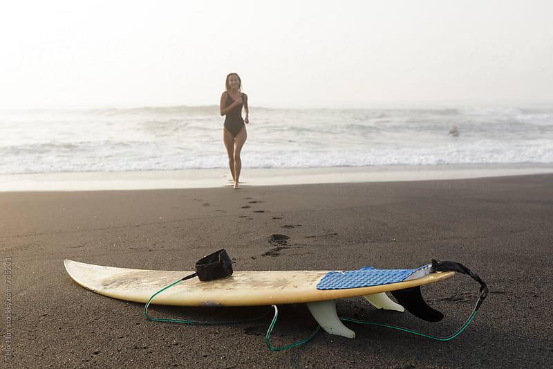 Bali Surfing by Felix Hug for Stocksy United