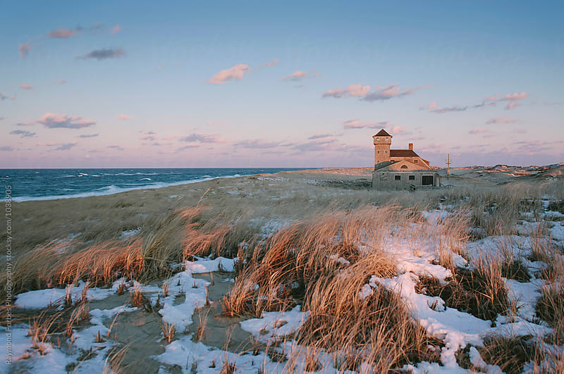 Cape Cod National Seashore Lanscape in Winter by Raymond Forbes LLC for Stocksy United