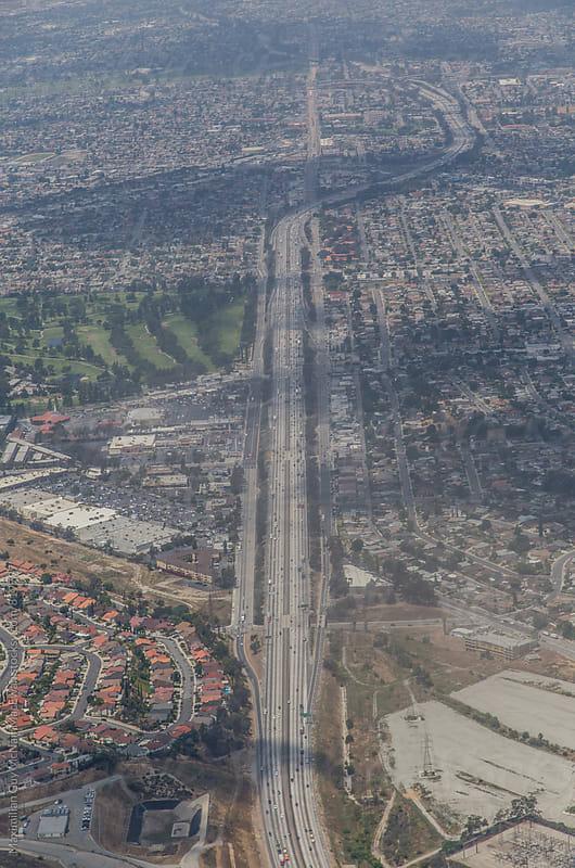 Highways of Los Angeles by Maximilian Guy McNair MacEwan for Stocksy United