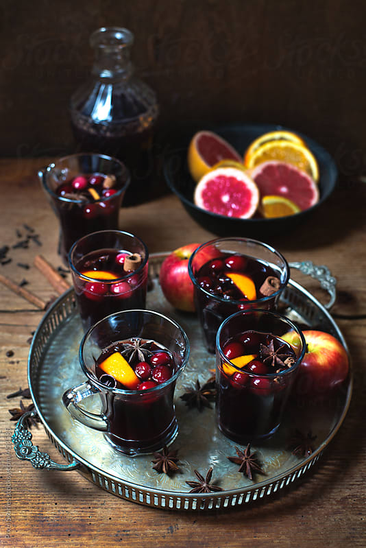 Drinks: Mulled wine by Pixel Stories for Stocksy United
