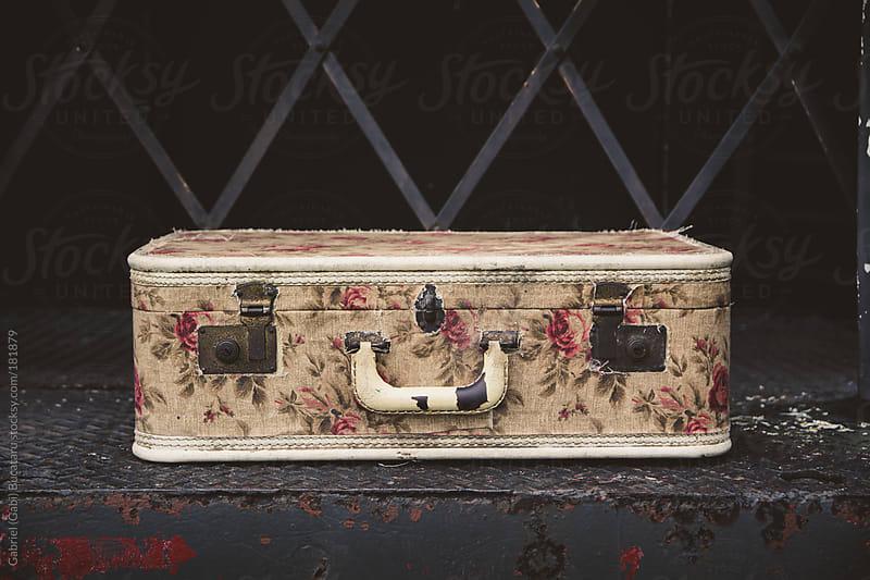 Vintage Suitcase on Train by Gabriel (Gabi) Bucataru for Stocksy United