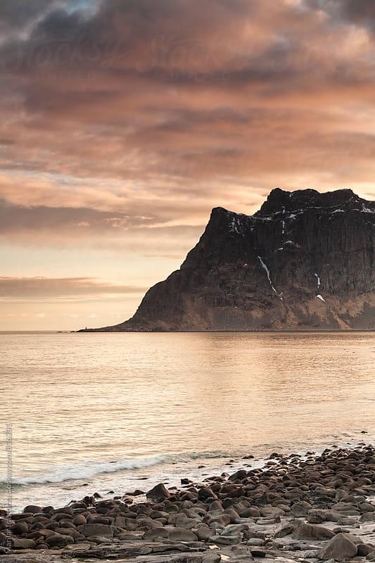 Norwegian coastline by Marilar Irastorza for Stocksy United