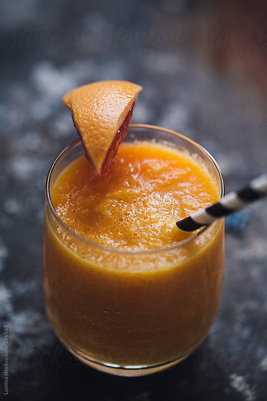 Orange and Grapefruit Smoothie by Lumina for Stocksy United