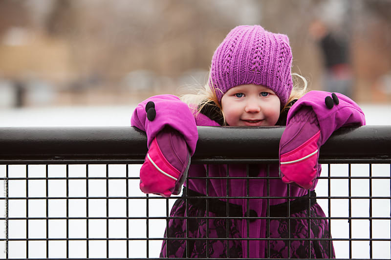 Skating: Little Girl Taking A Break From Skating by Sean Locke for Stocksy United