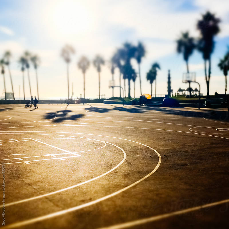 Basket Court by Good Vibrations Images for Stocksy United