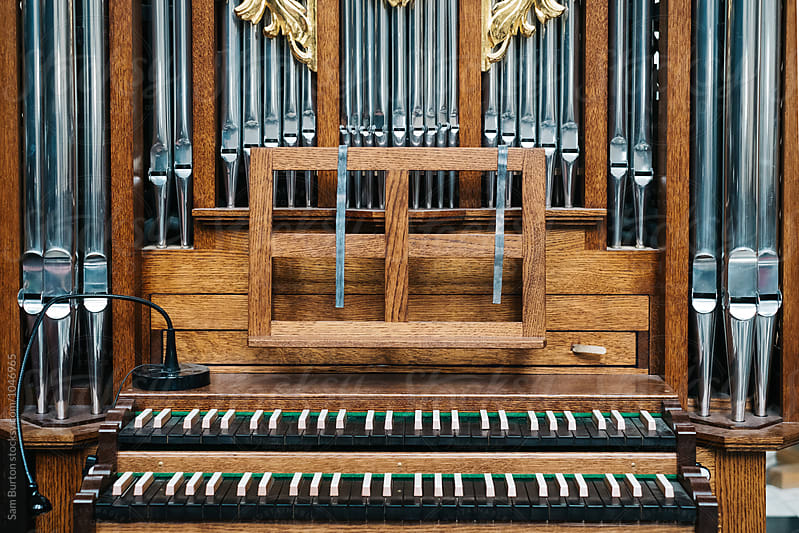 Church organ by Sam Burton for Stocksy United