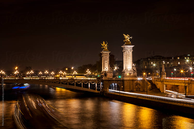 Paris Night by Mental Art + Design for Stocksy United