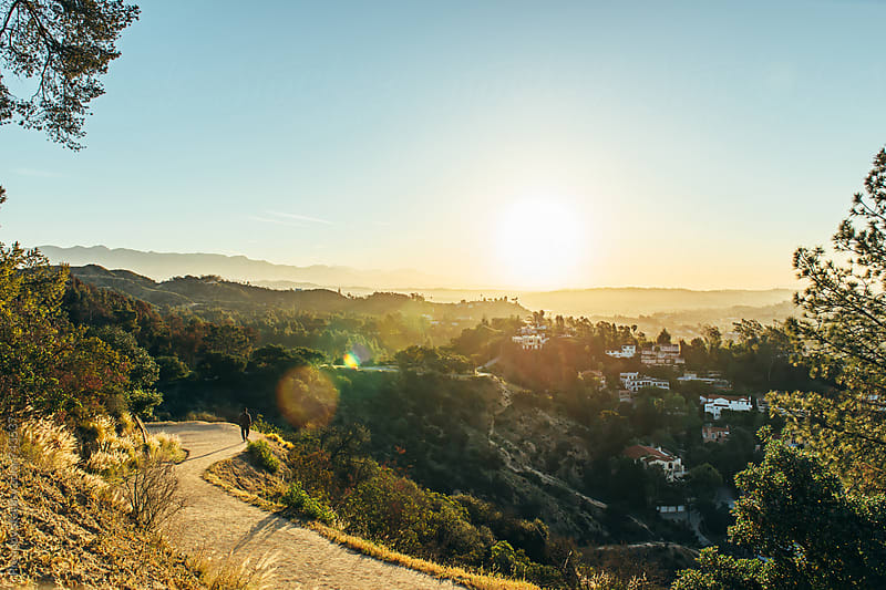 Hiking in Griffith Park by Preappy for Stocksy United