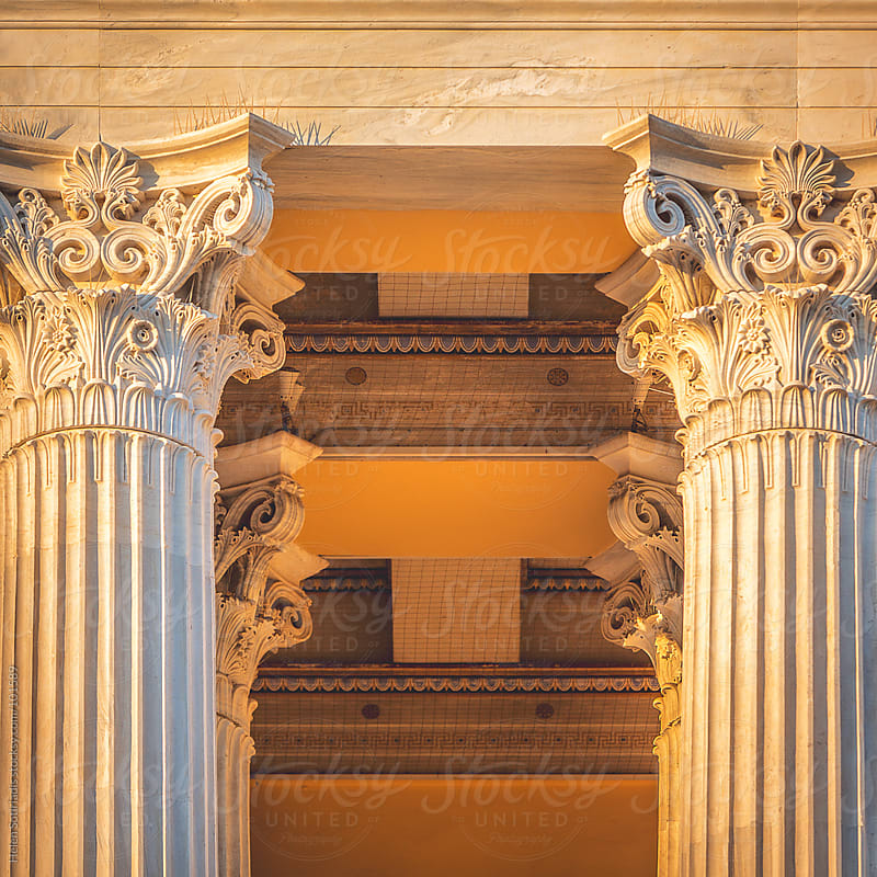 Corinthian Columns  by Helen Sotiriadis for Stocksy United