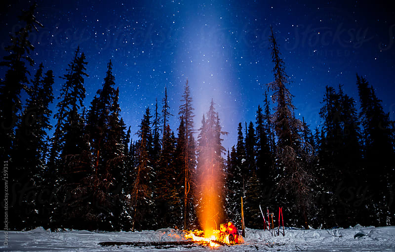 Star Filled Fire by David Jackson for Stocksy United