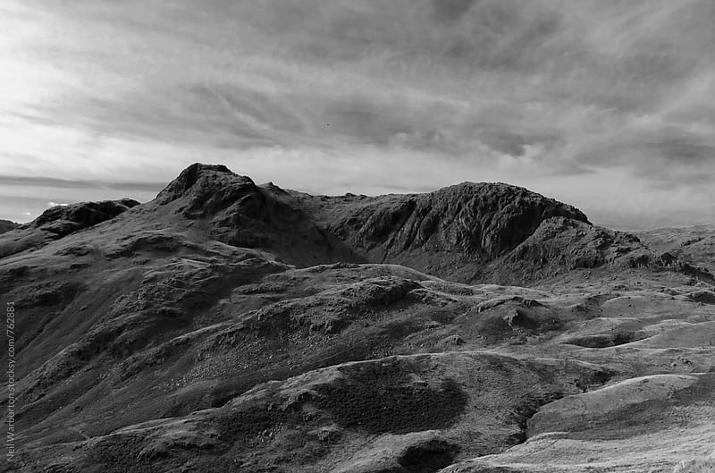 Harrison Stickle and Pavey Ark in the English Lake District by Neil Warburton for Stocksy United