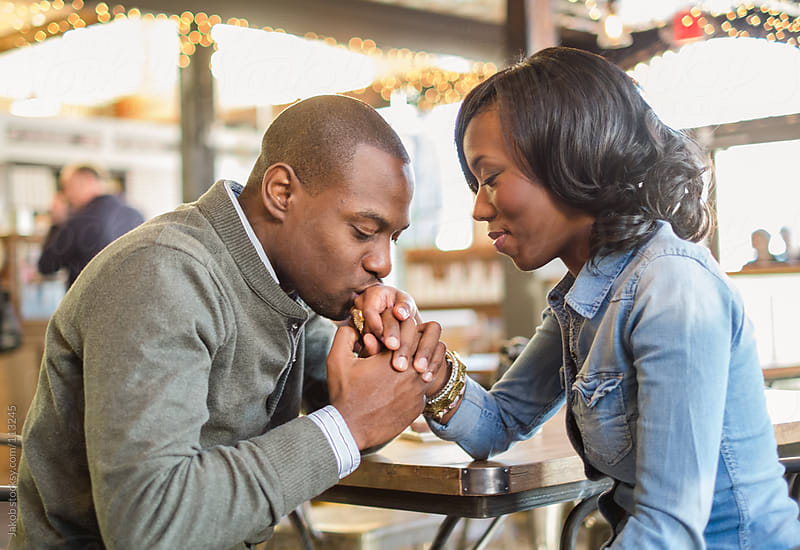 A beautiful african-american couple in love by Jakob for Stocksy United