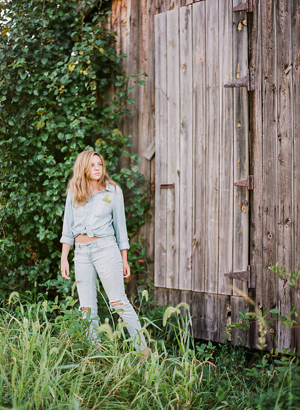 At the Shed by Marta Locklear for Stocksy United