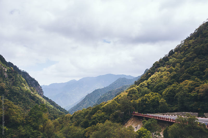 Taibai mountain,Shanxi Province by zheng long for Stocksy United