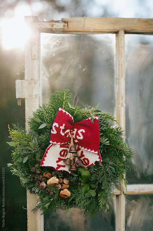Christmas wreath  by Török-Bognár Renáta for Stocksy United