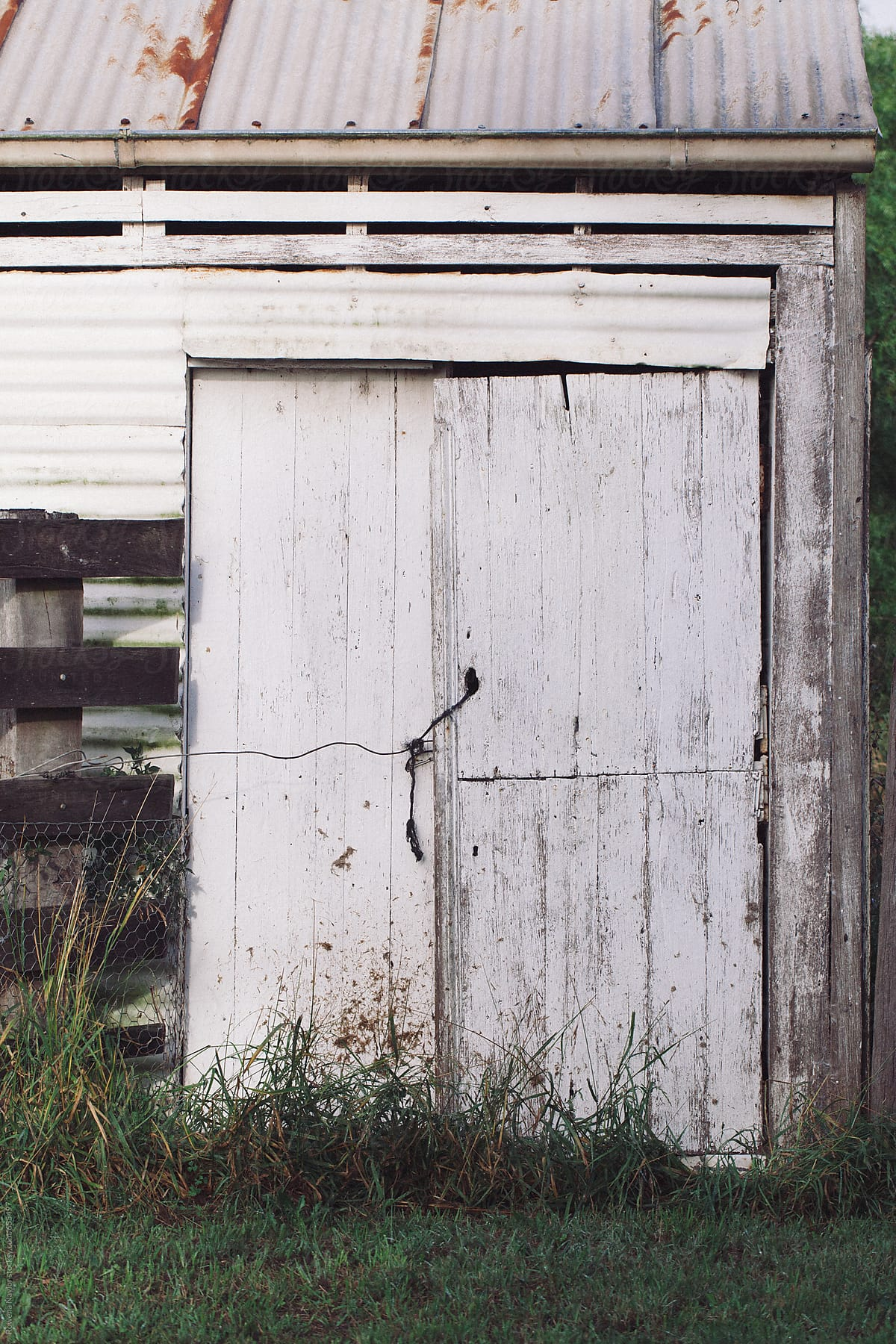 Rustic Old Barn Doors On Farm By Rowena Naylor For Stocksy United