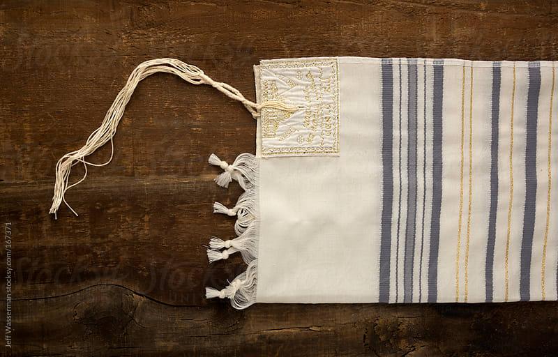 Jewish Tallit or Prayer Shawl by Jeff Wasserman for Stocksy United