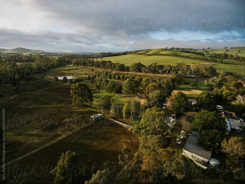 Farmland in North Eastern Victoria, Australia by Gary Radler Photography for Stocksy United