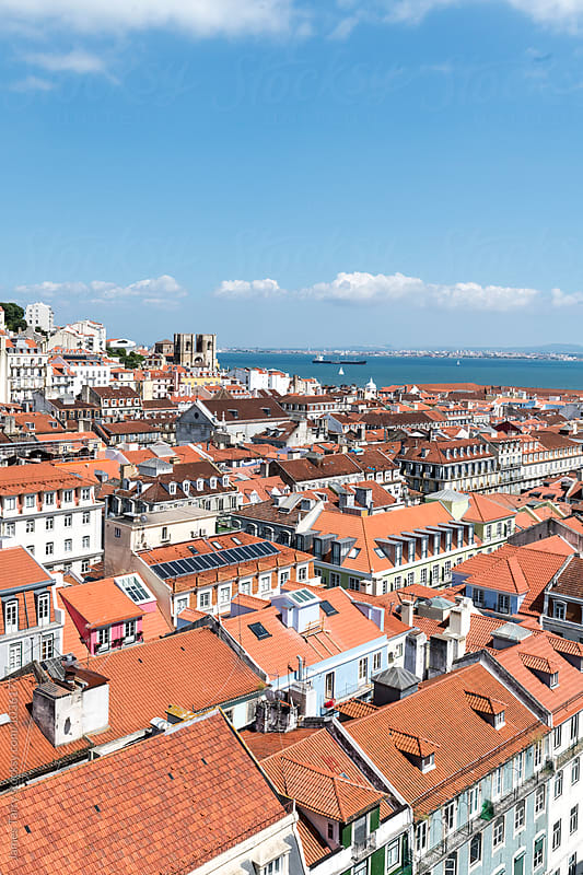 Lisbon River view by James Tarry for Stocksy United
