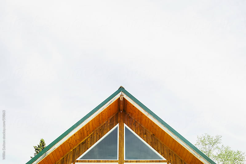 Log Cabin Roof by Willie Dalton for Stocksy United