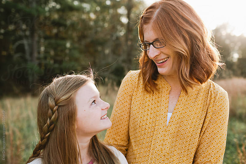 Mother and daughter by Erin Drago for Stocksy United