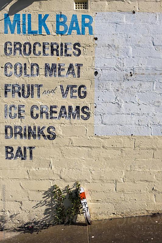 Classic Australian Milk Bar by Rowena Naylor for Stocksy United