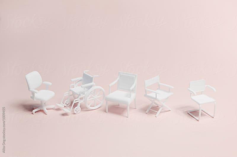 Disability at workplace by Alita Ong for Stocksy United