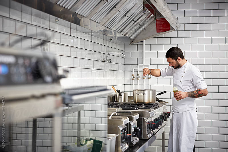 commercial cooking Components of a commercial kitchen most people hear commercial kitchen and think of ranges, grills, fryers, and maybe a frantic, angry chef yelling out orders that may be the case, but the true commercial kitchen is much more than.