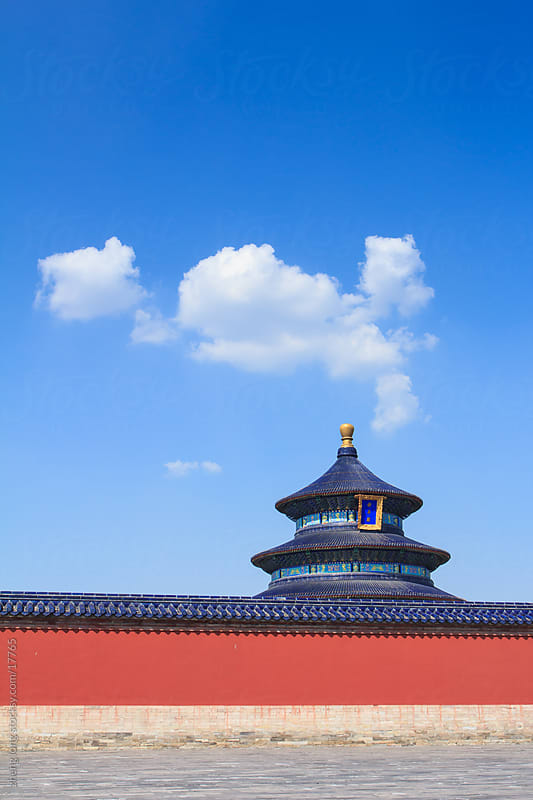 Temple of heaven by zheng long for Stocksy United
