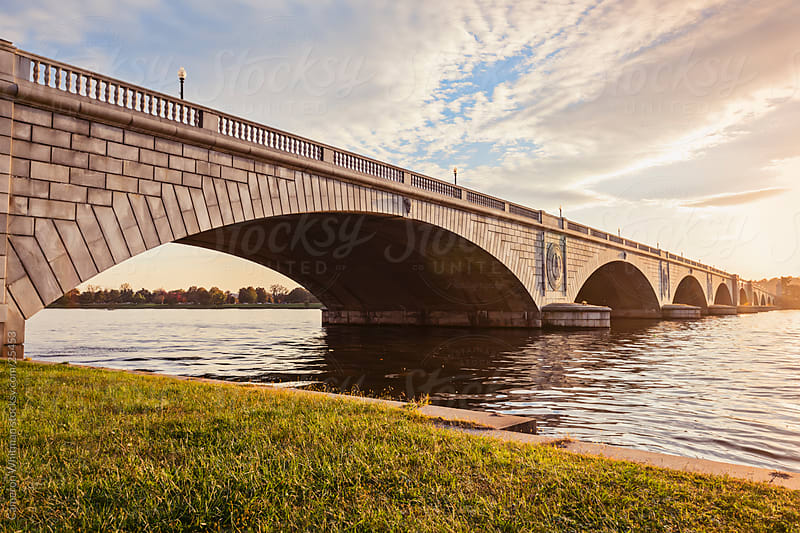 Arlington Memorial Bridge by Cameron Whitman for Stocksy United