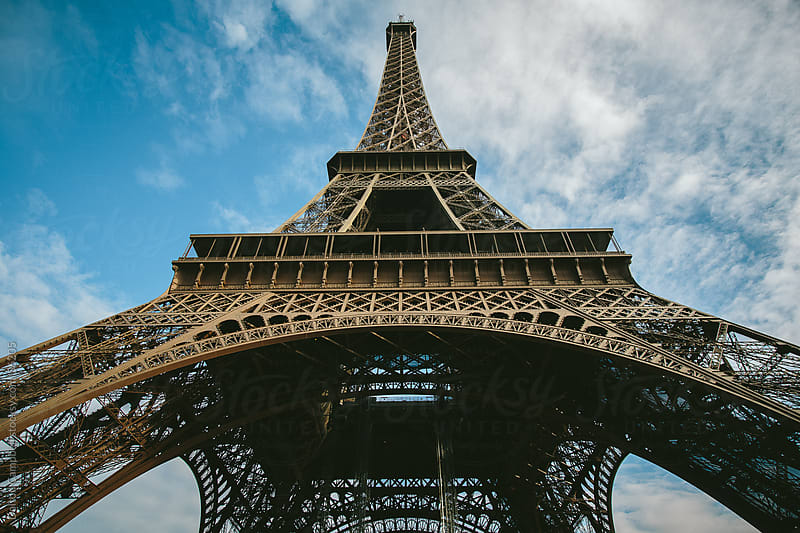 Eiffel tower in Paris by Dalton Campbell for Stocksy United
