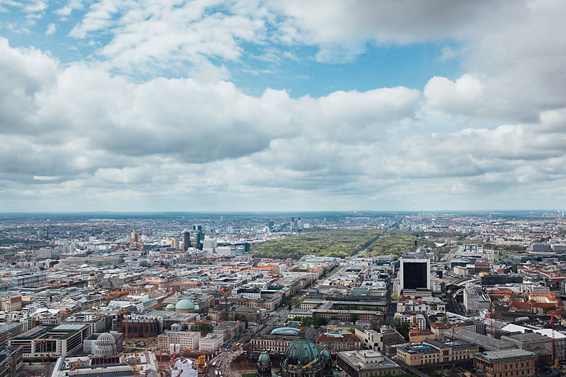 View from TV Tower of Berlin by Peter Wey for Stocksy United
