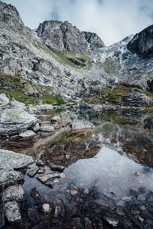 Unterkärpf mountain peak by Peter Wey for Stocksy United