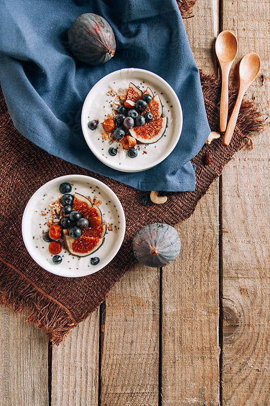 Healthy breakfast by Nataša Mandić for Stocksy United