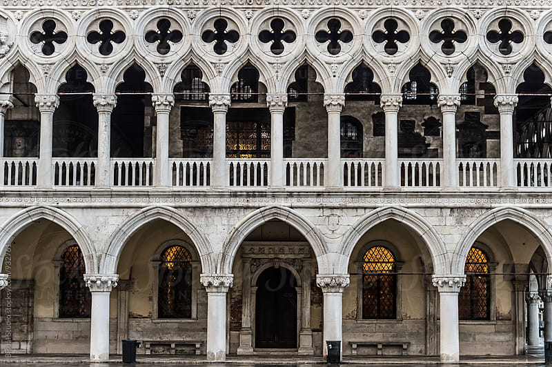 Doge's Palace facade by Bisual Studio for Stocksy United