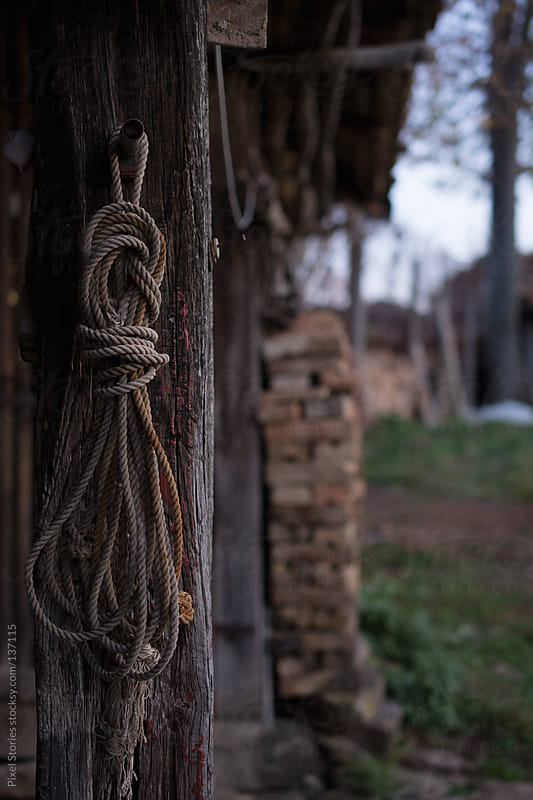 Old rope by Pixel Stories for Stocksy United