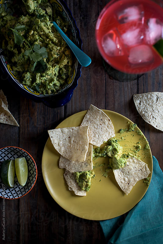 Guacamole & Margaritas by Aubrie LeGault for Stocksy United