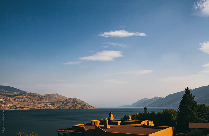 View of Okanagan lake  by kkgas for Stocksy United