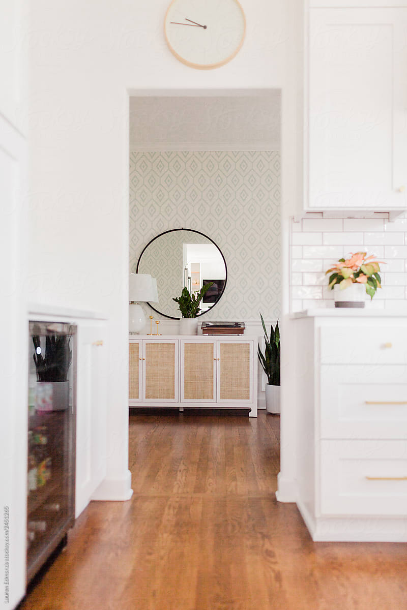 Dining room console through doorway by Lauren Edmonds ...
