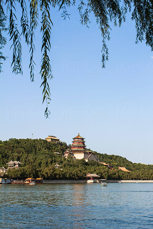 the summer palace,Beijing by zheng long for Stocksy United