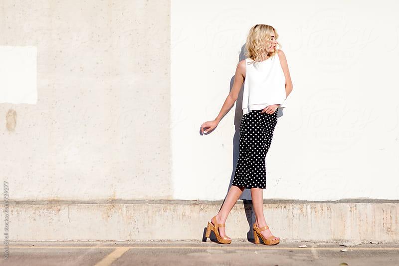 Woman Walking by Kayla Snell for Stocksy United