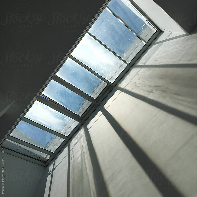 Ceiling window by Paperclip Images for Stocksy United