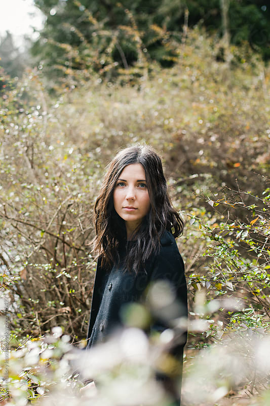 Babe in the bush by luke + mallory leasure for Stocksy United