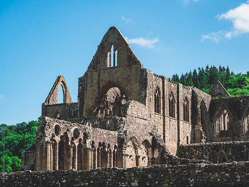 Tintern Abbey by Milena Milani for Stocksy United